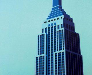 紐約地標畫展