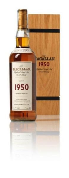 Lot 112 Macallan Fine & Rare-1950-52 year old 麥卡倫珍稀系列-1950-52年 估價:HK$160,000 –190,000