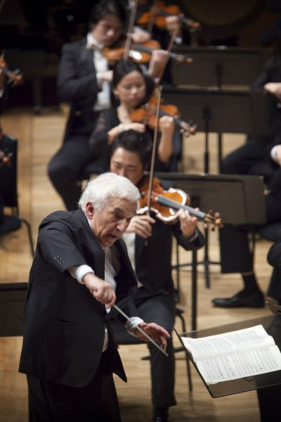 V.Ashkenazy, Chairman of the jury, conductor