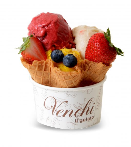 Venchi Waffle (fruit)