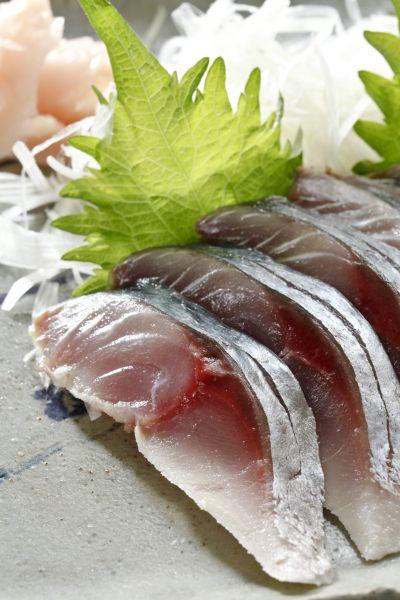 日本酢鯖刺身